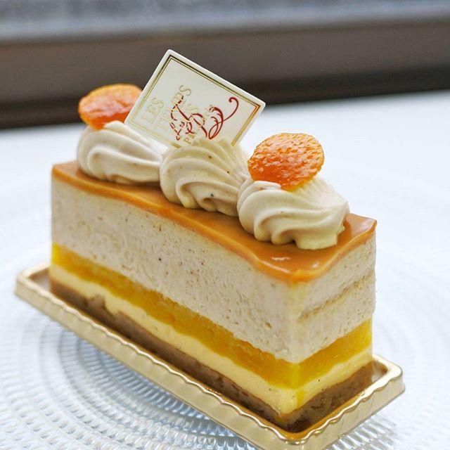 画像: #レタンプリュス #秋の味覚 #サンタンドル という名のケーキは、フランス栗のマロンムースとみずみずしいオレンジのジュレ、バニラ香るのムースという斬新な組み合わせで! #流山おおたかの森 www.instagram.com