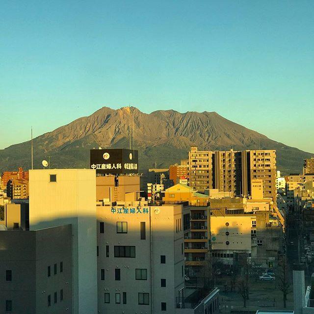画像: #桜島 #夕景 www.instagram.com