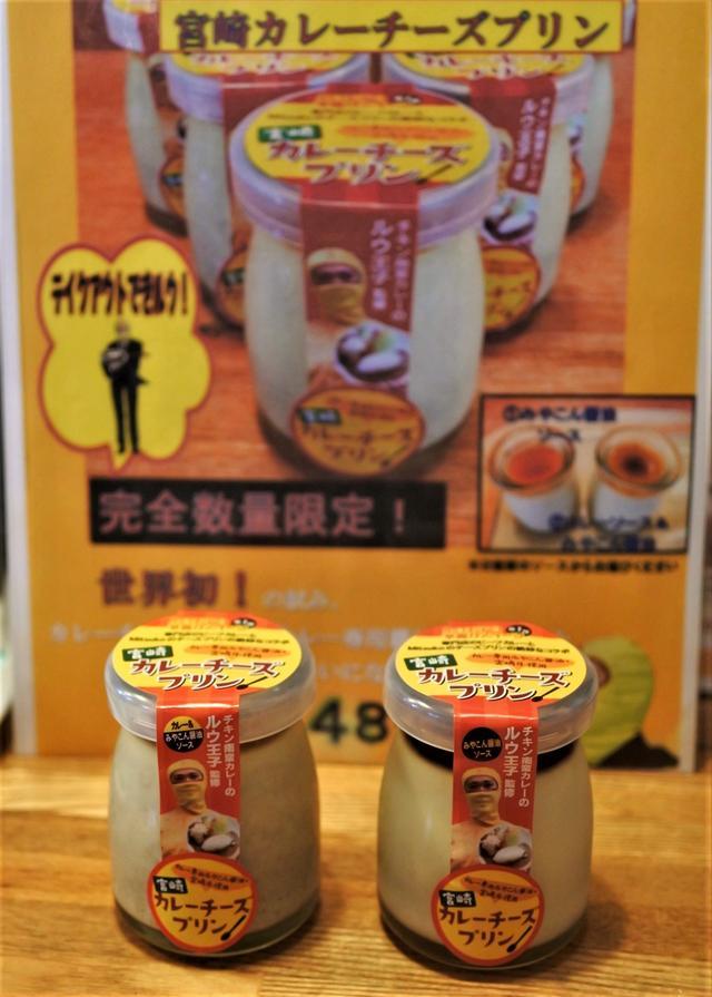 画像: とろみのあるのあるカレー専用醤油「みやこん醤油」を使った「特製みやこん醤油ソース」と、カレーソースにその醤油をのせた「特製カレーソース」の2種類