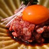 画像: 舌触り、風味、食感、味わい、余韻、五位一体遠い謳う、#神戸牛ユッケ の#嘉ユッケ  #ユッケ はエロい! #焼肉嘉 #kyoto www.instagram.com