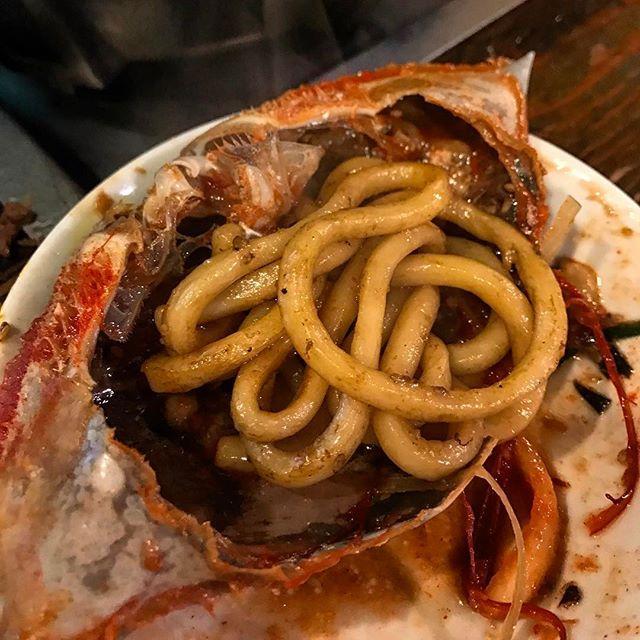 画像: #巨牛荘 本店 #プルコギ の締めの焼うどんに#カンジャンケジャン のタレを絡めて食べるのが #神うまい !(笑) #アメージングおすすめーじんく  #アメージングうめーじんぐ www.instagram.com