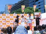 画像: 田中里奈ちゃん、桃ちゃん、フォーリンデブはっしーのトークショー 台本なしのアドリブトークに会場がアゲアゲ!