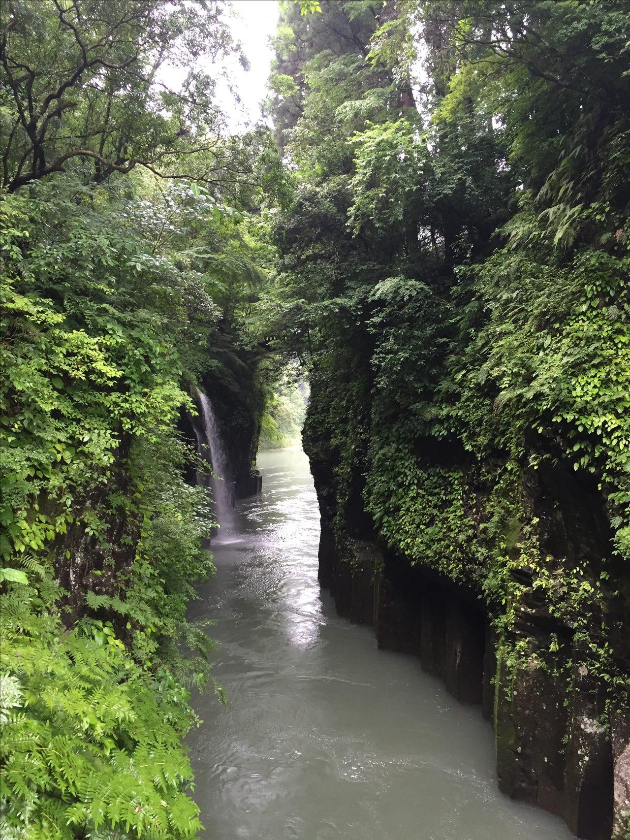 画像: 高千穂峡