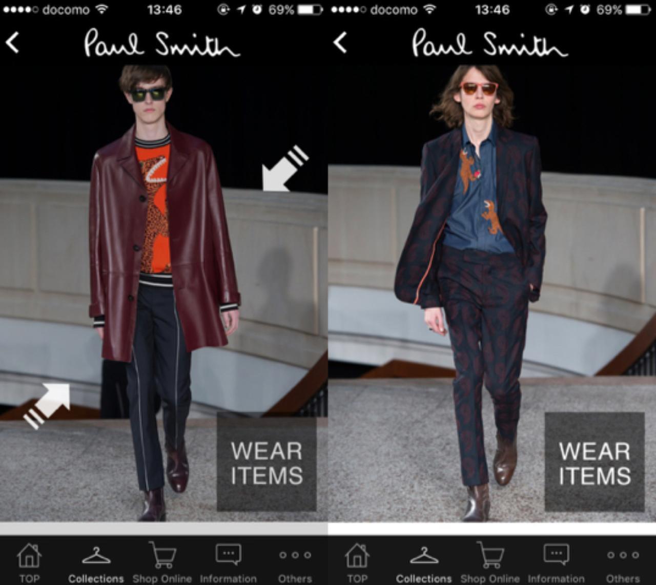 画像2: ポール・スミスは公式アプリもあります。