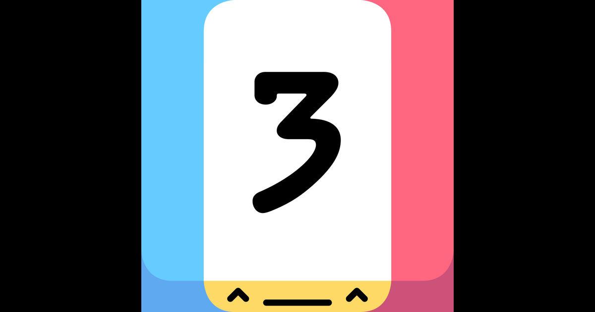 画像: Threes! Freeを App Store で