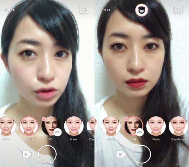 画像2: LINEの新しいアプリ、今度はすっぴんでもセルフィーOKなカメラアプリ!!