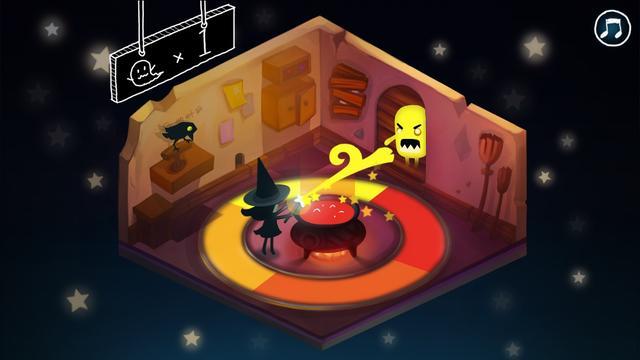 画像3: ハロウィンにもぴったり!色を操る魔女とおばけ退治!