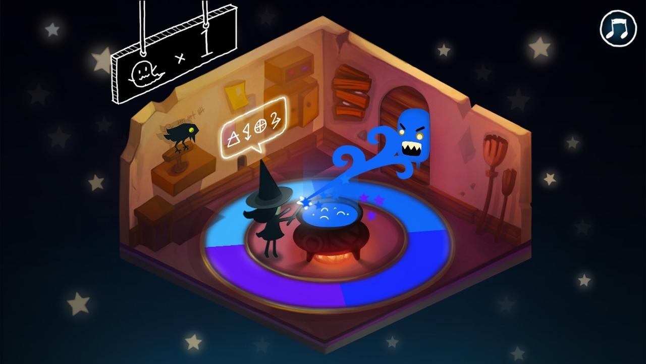 画像2: ハロウィンにもぴったり!色を操る魔女とおばけ退治!