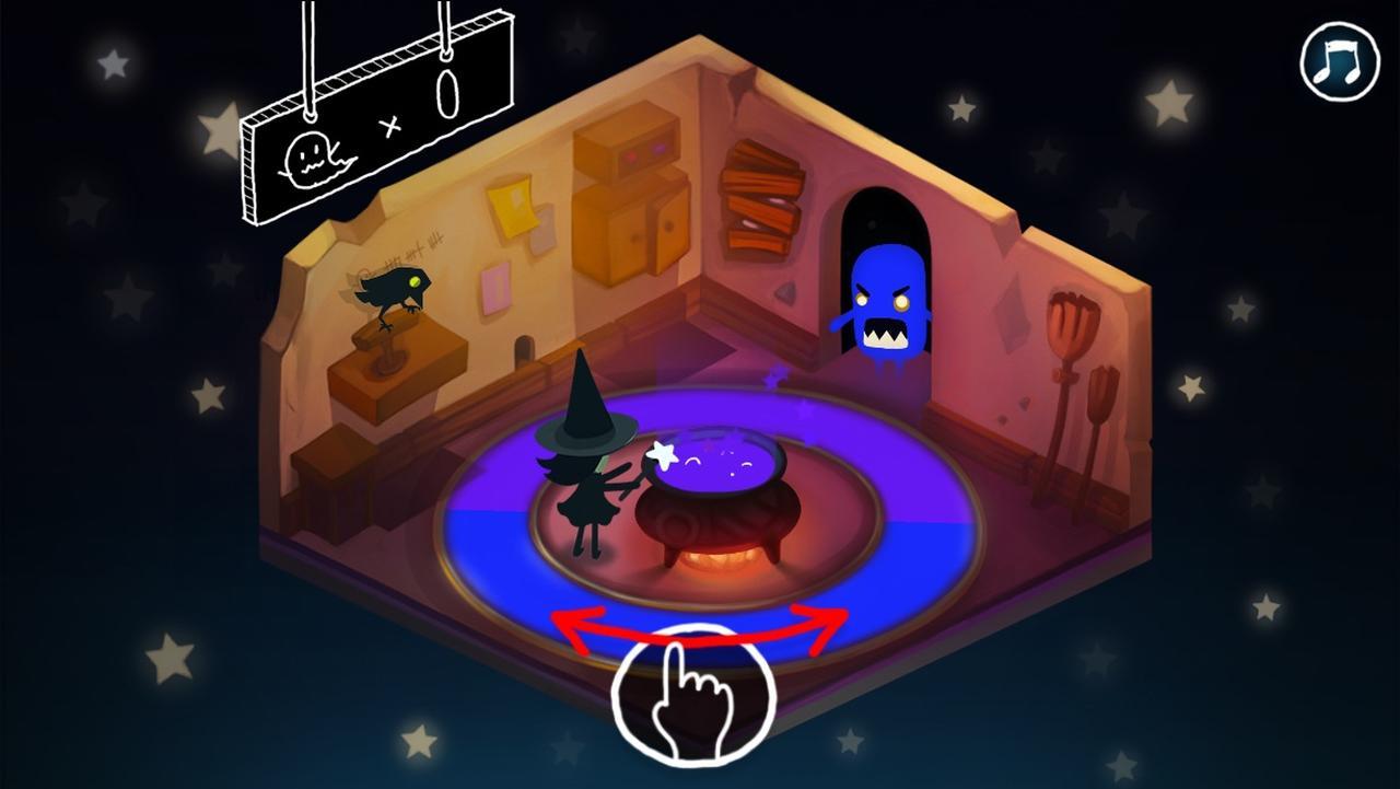 画像1: ハロウィンにもぴったり!色を操る魔女とおばけ退治!