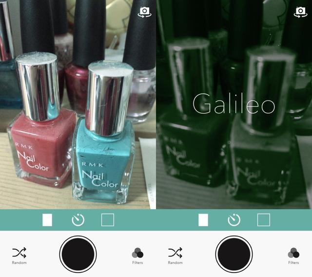 画像1: 色や質感をオシャレに変換するフィルターをかけて撮影できるアプリ