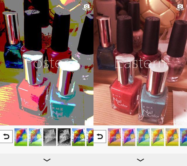 画像2: 色や質感をオシャレに変換するフィルターをかけて撮影できるアプリ