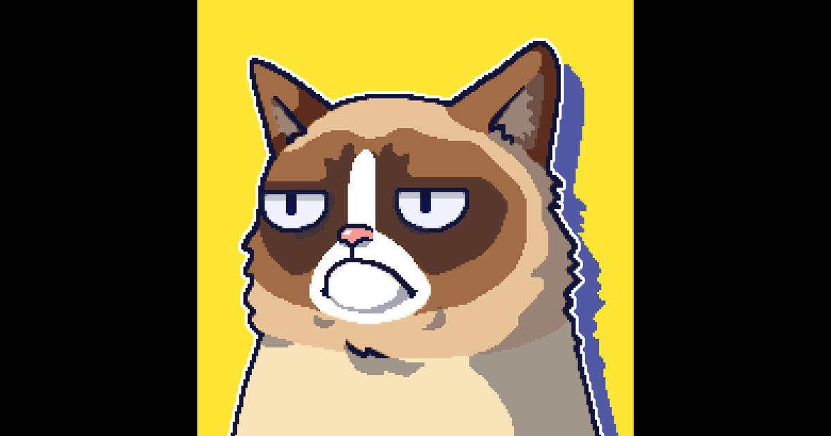 画像: グランピー・キャットの最悪のゲームを App Store で