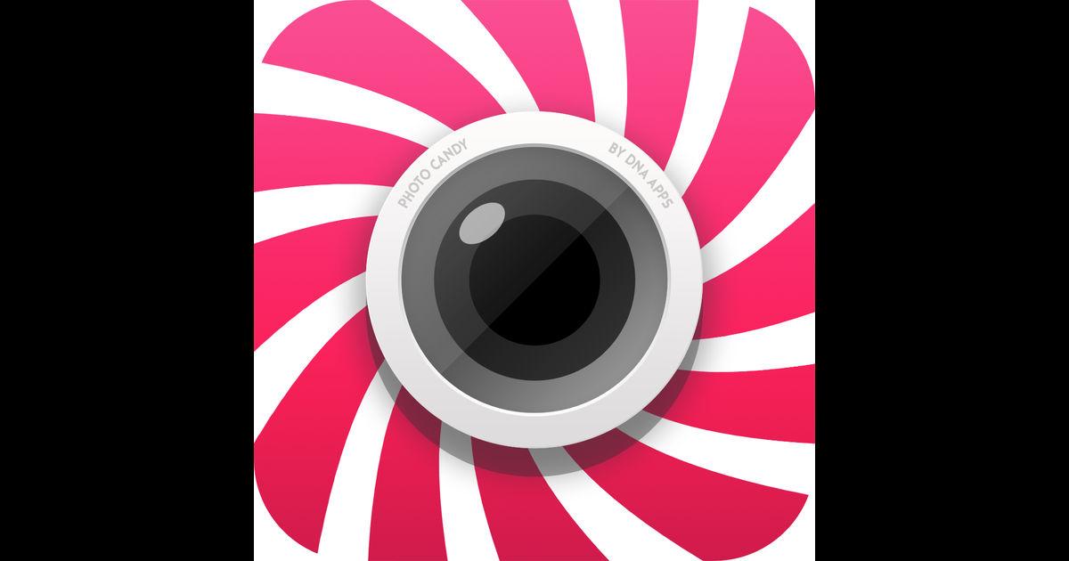 画像: Photo Candy - Best Photo Editor To Make Art Add Patterns, Shapes And Text On Your Imagesを App Store で
