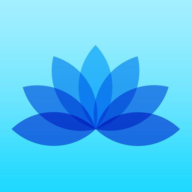 画像: 5分間の瞑想-リラクゼーション、幸福感、そしてストレス解消のためのマインドフルネスを App Store で