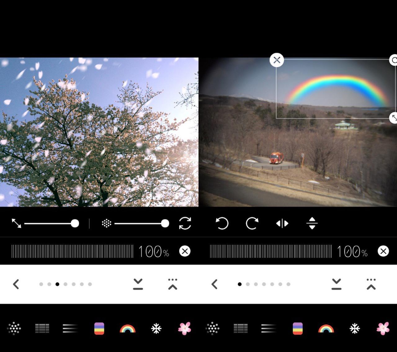 画像3: 虹や桜吹雪や雪で自然の美しさをあなたの写真に。
