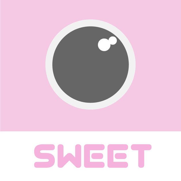画像: SweetCamera 人気のピンクフィルター 写真を加工できるトイカメラを App Store で