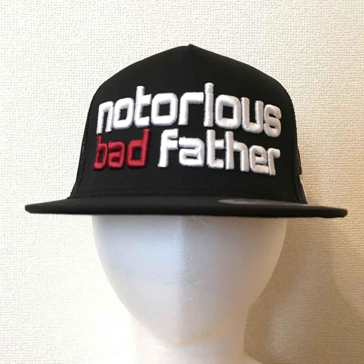 画像: bad father mesh cap black / ¥7,560