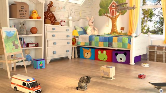 画像2: 素敵なお部屋には楽しい仕掛けだらけ!