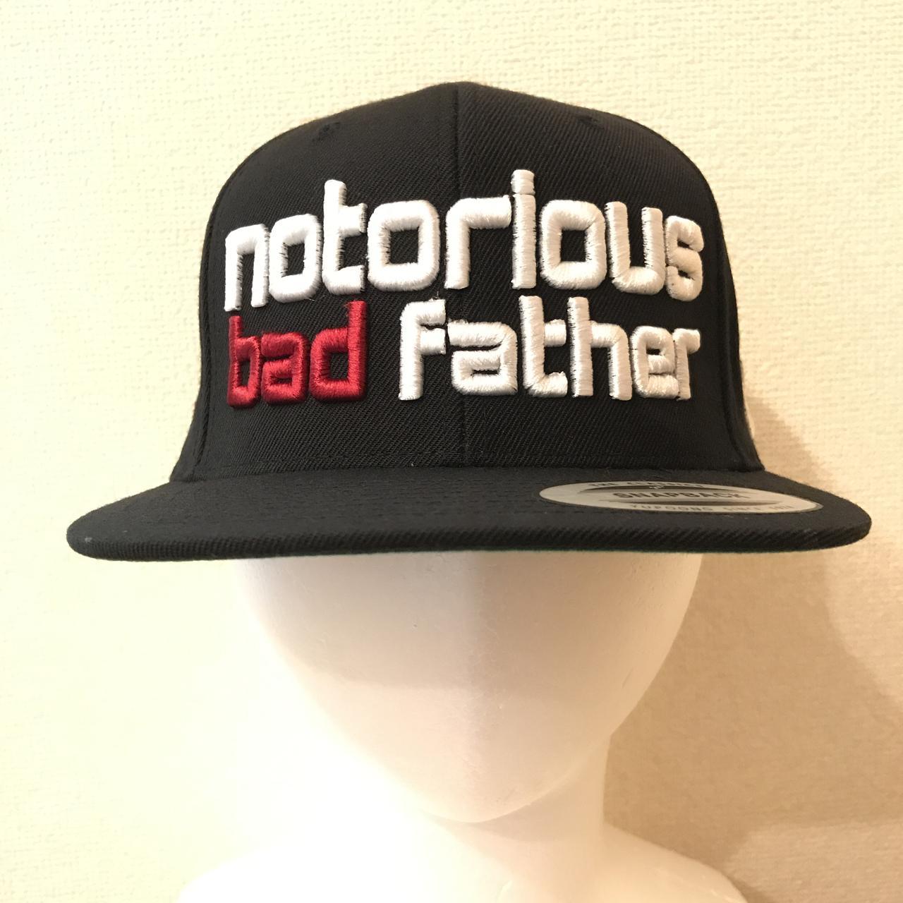 画像: bad father snapback black / ¥8,640