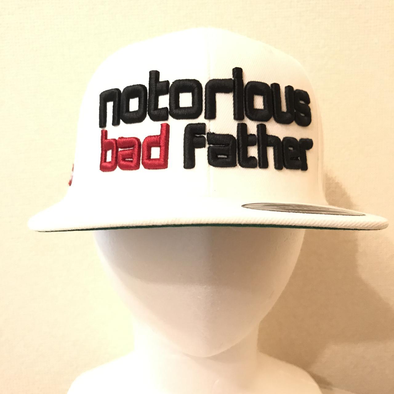 画像: bad father snapback white / ¥8,640