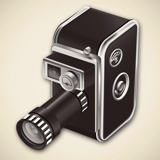 画像: 8ミリカメラを App Store で