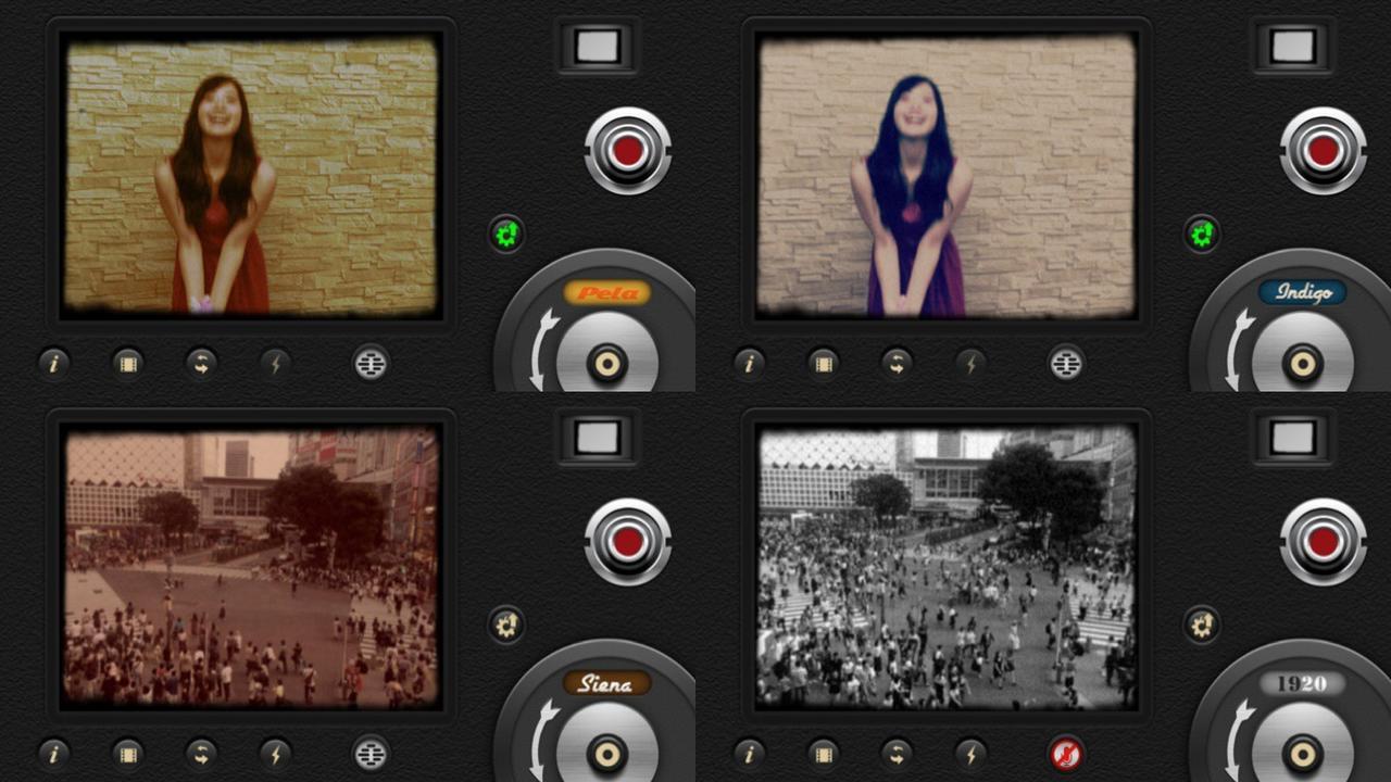 画像1: 選べるフィルムは10種類。レンズも変えられます。
