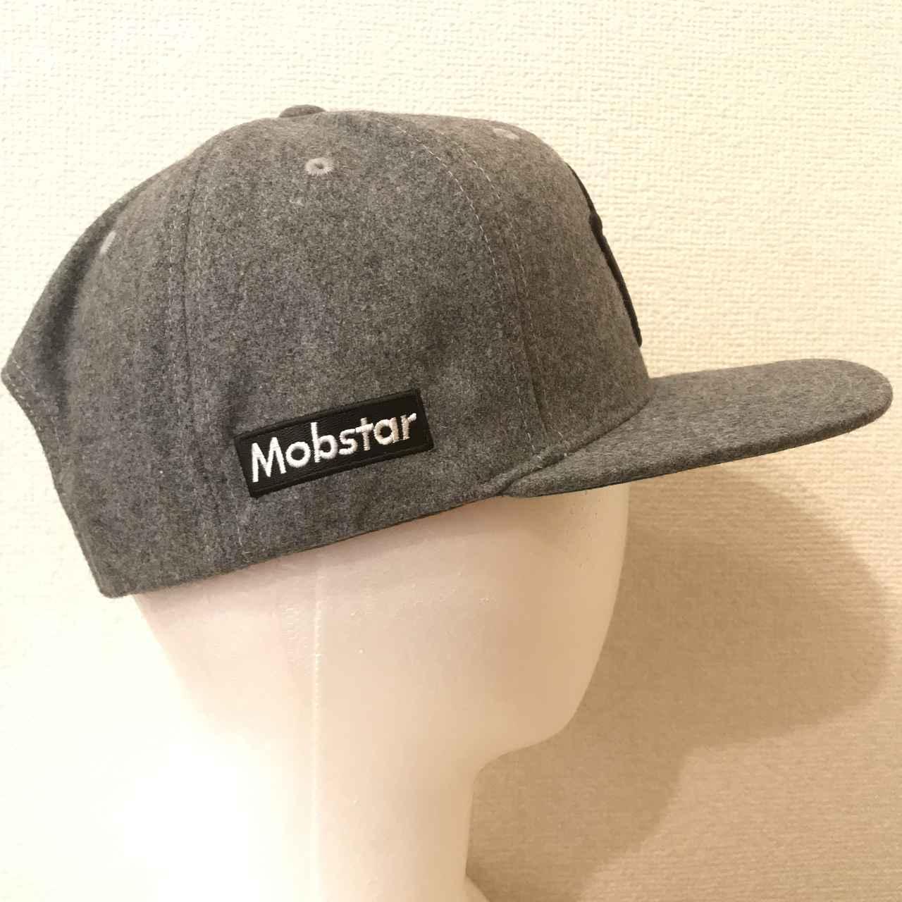 画像1: mobstar wool cap grey