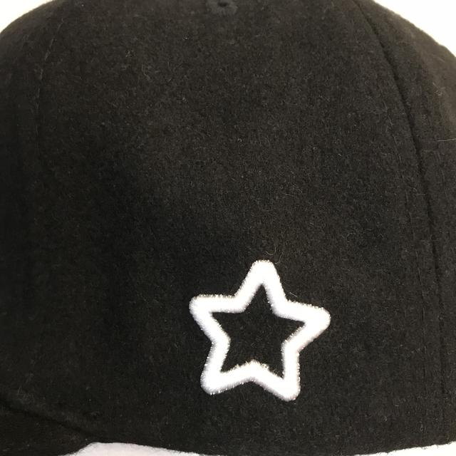 画像2: mobstar wool cap black