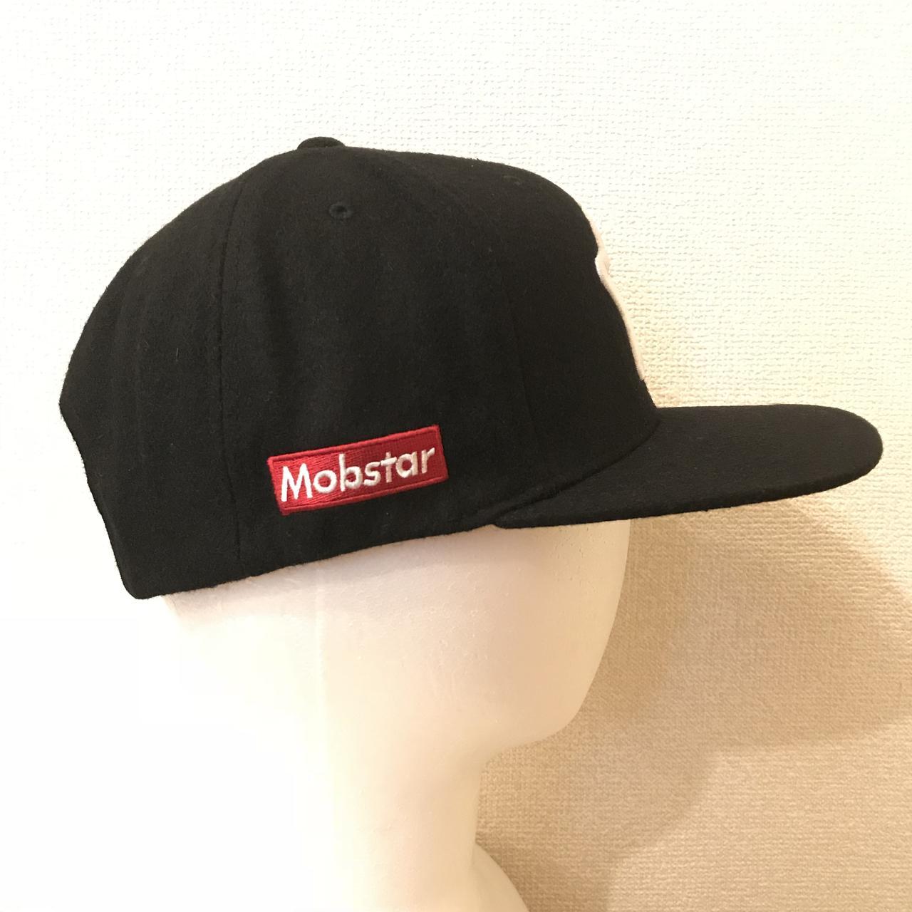 画像1: mobstar wool cap black