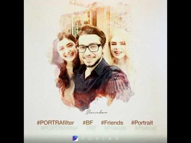 画像: PORTRA - 胸キュン!アートフィルター - Google Play の Android アプリ