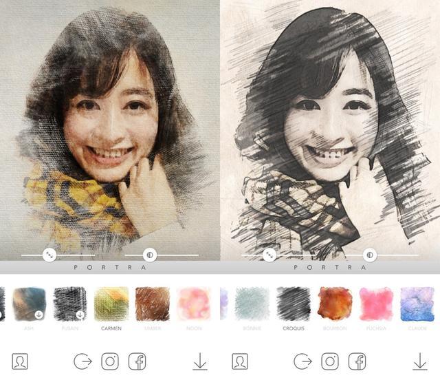 画像2: 水彩画っぽいもの、デッサンっぽいもの、色々加工できます!