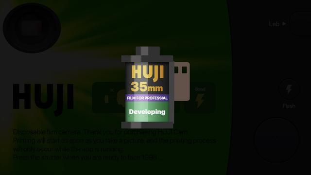 画像2: 見た目もインスタントカメラみたい!不便さがリアルなカメラアプリ。