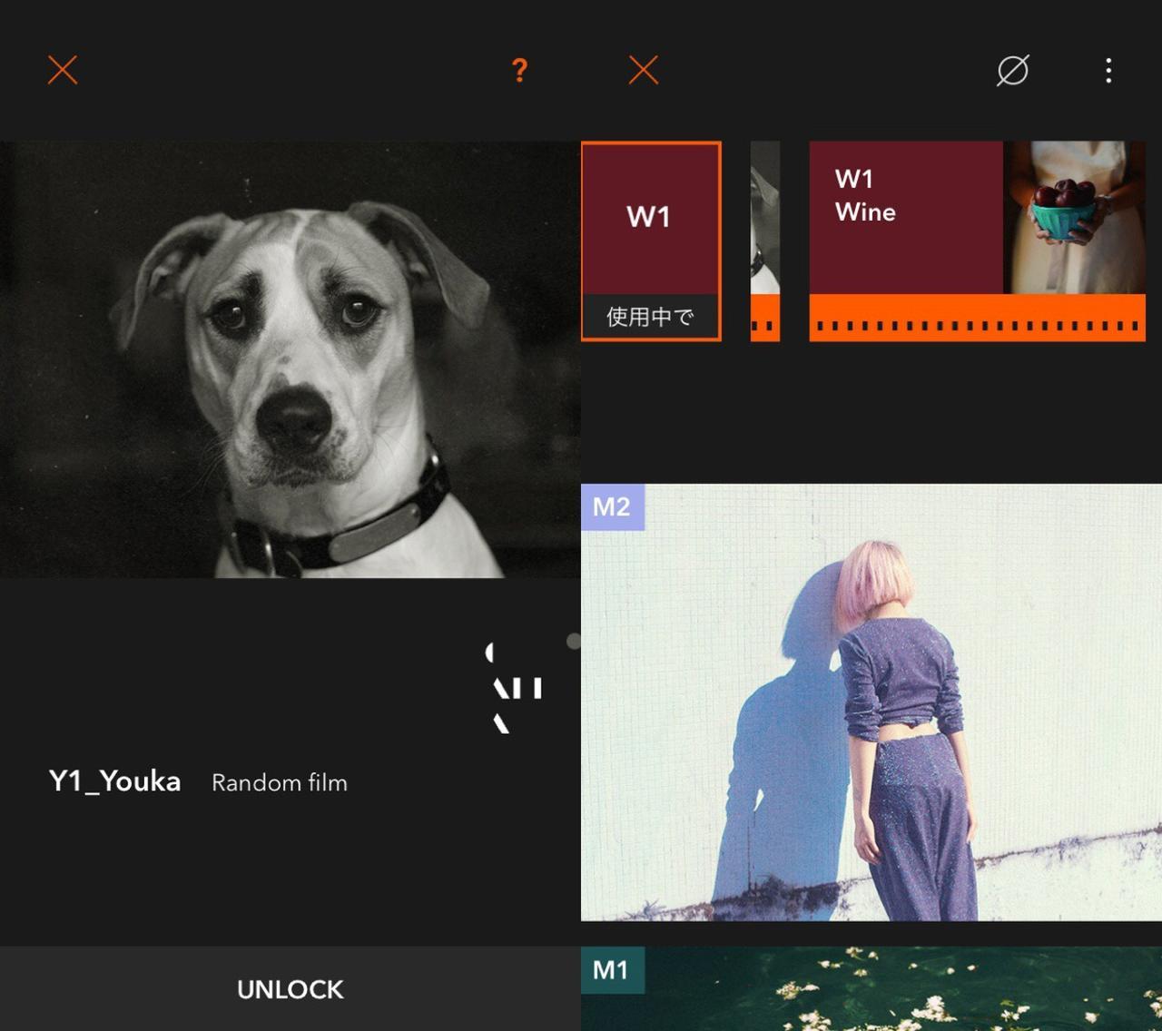 画像3: フィルムカメラ風でも色合いを変えて遊びたい人にはこのアプリ!