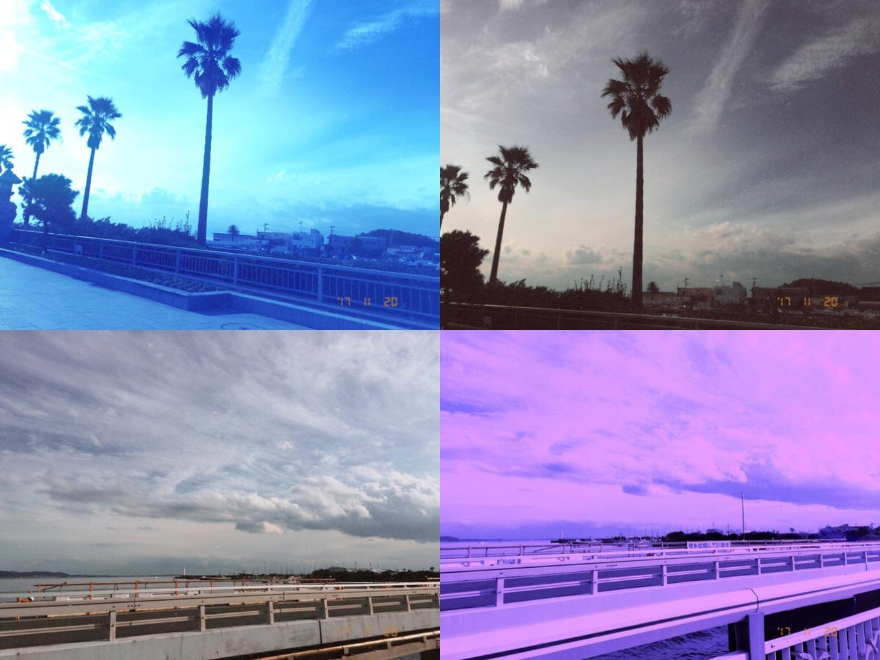 画像1: フィルターと違う雰囲気の写真ができることも?!こんな写真が撮れます!