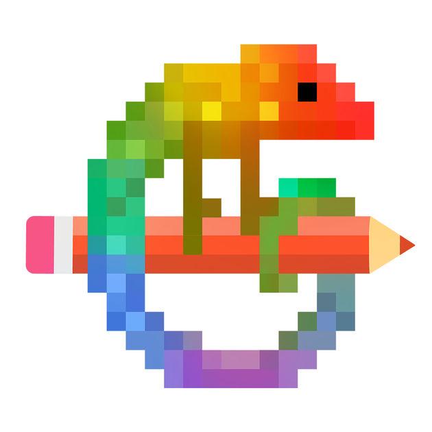 画像: Pixel Art - 数字で色ぬりを App Store で
