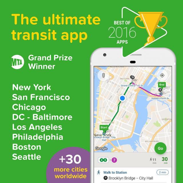 画像: Citymapper - Transit Navigation - Google Play の Android アプリ