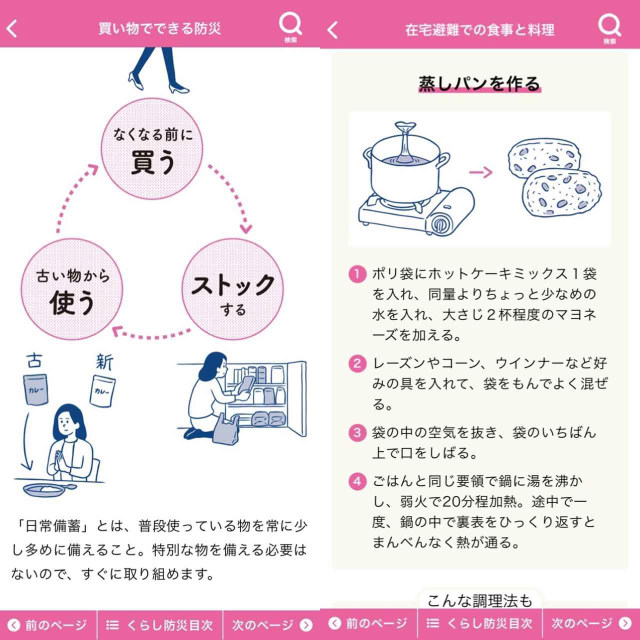 画像3: 「東京くらし防災モード」では生活の中でする防災を学べます。