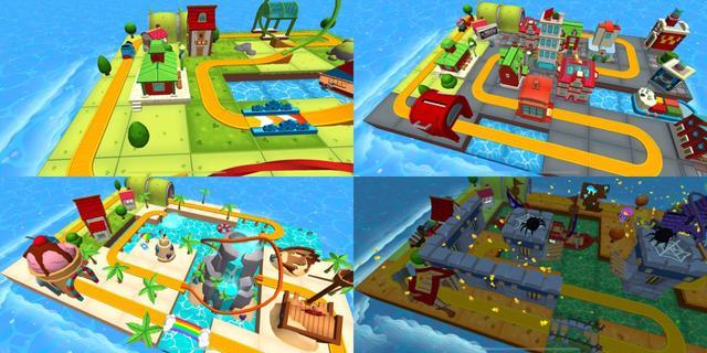 画像1: トーマスたちと一緒に鉄道模型を走り回ろう!