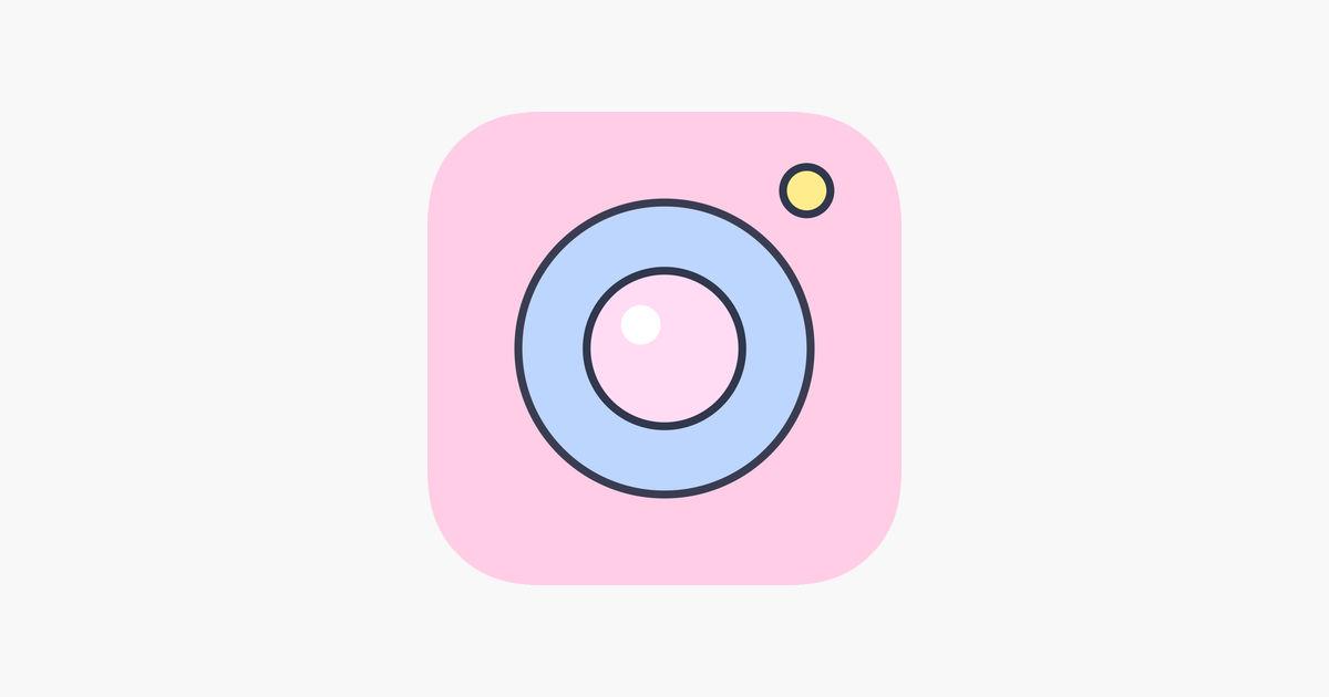 画像: 「PinksCam - Kawaii self camera」をApp Storeで