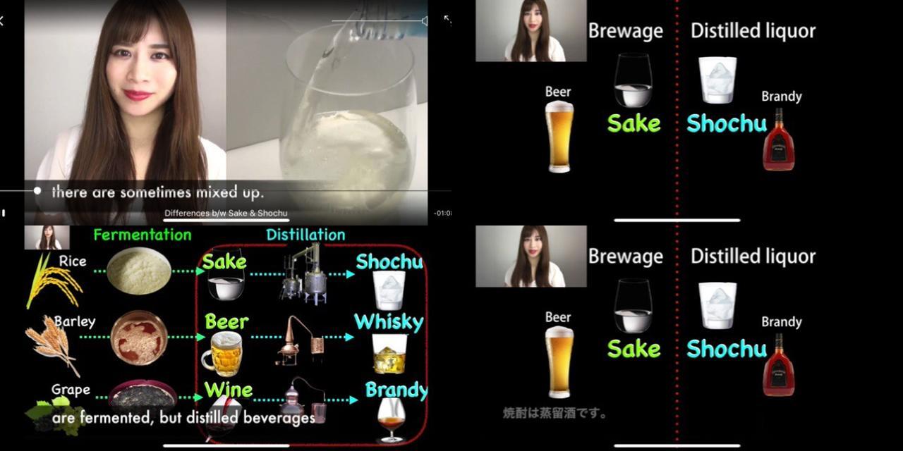 画像: 動画は基本全部英語!字幕で日本語が選べます。
