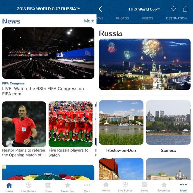 画像1: FIFAの大会だからまずは公式アプリ!『2018 FIFA World Cup Russia™』