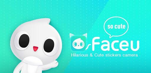 画像: Faceu(フェースユー)- 顔認識スタンプが満載 - Google Play のアプリ