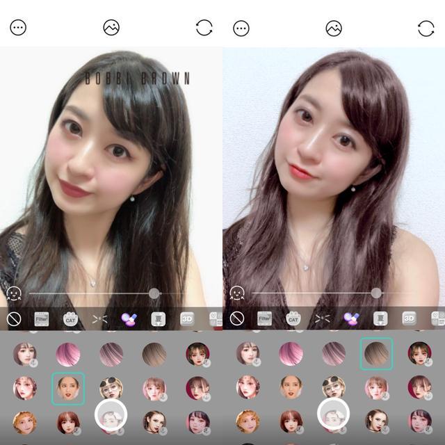 画像2: シンプル顔認識スタンプから3Dスタンプ、インスタント風まで幅広いフィルター!