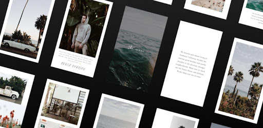 画像: Unfold - Create Stories - Apps on Google Play