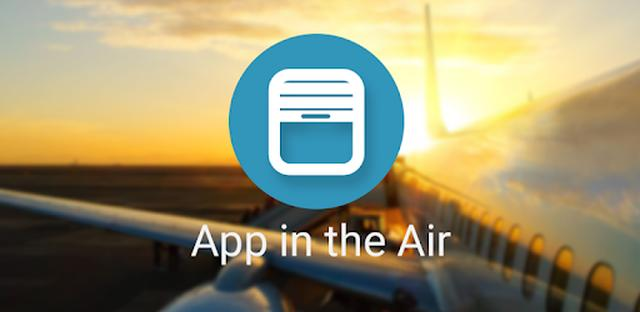 画像: App in the Air - Travel planner & Flight tracker - Apps on Google Play