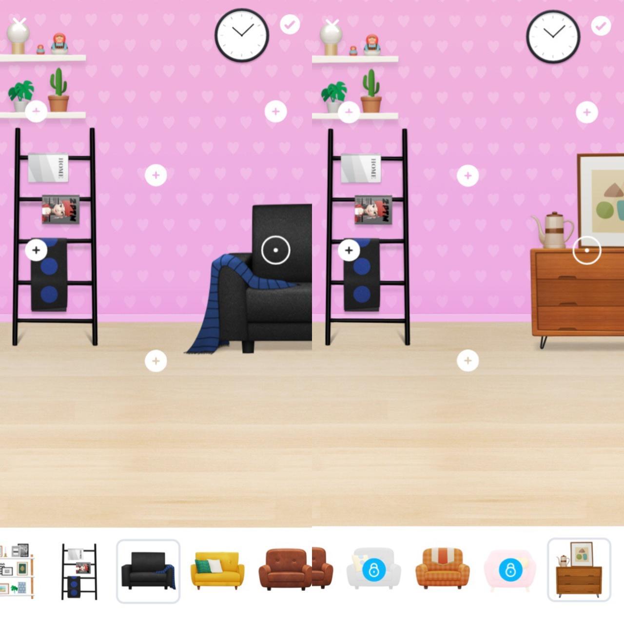 画像: お部屋も模様替え!