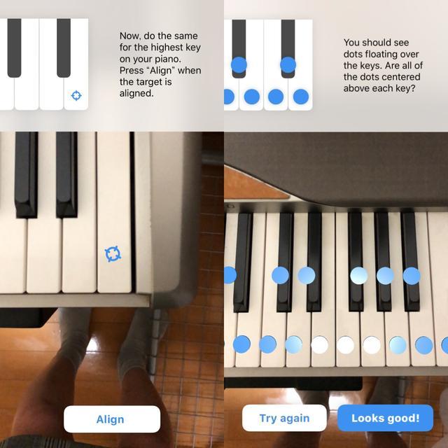 画像2: いろんな鍵盤数のキーボードに対応!まずは鍵盤をスキャン。