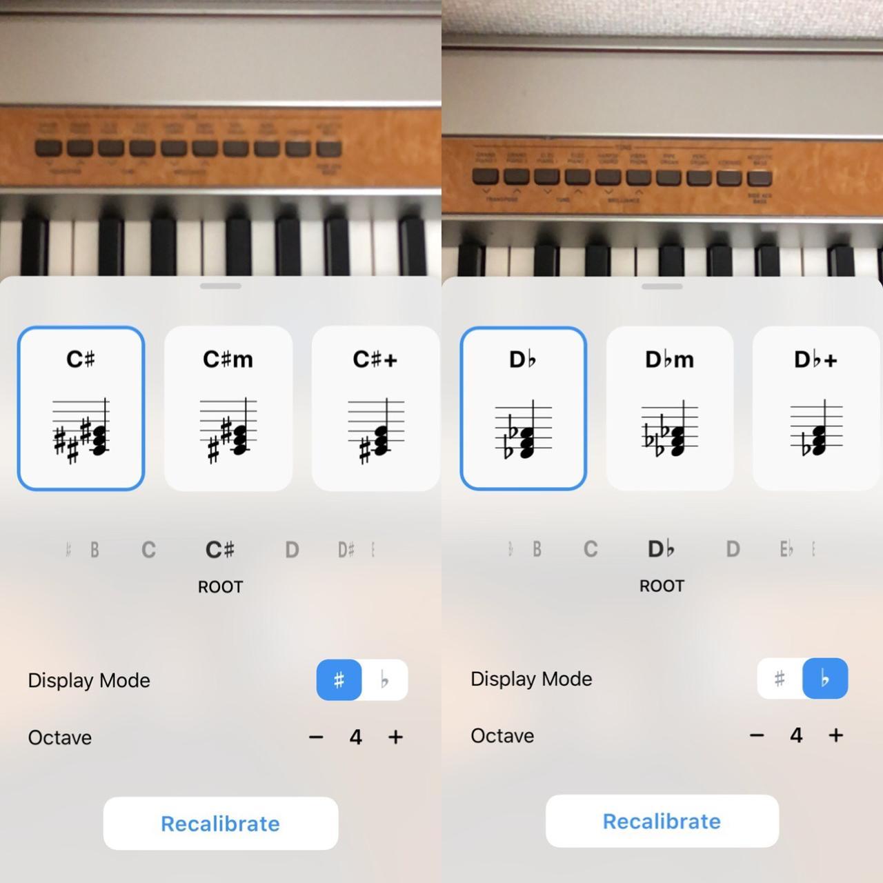 画像4: マーカーが出たところを弾くだけで正しい和音が演奏できる!