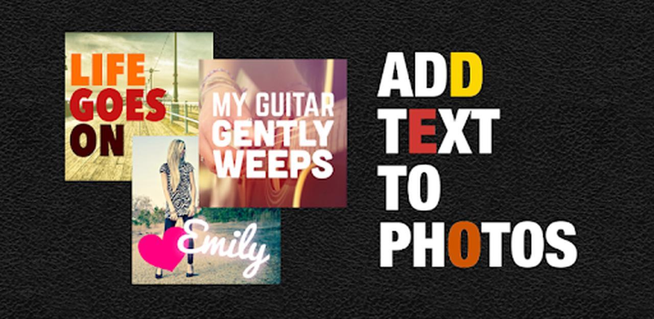 画像: Phonto - Text on Photos - Apps on Google Play