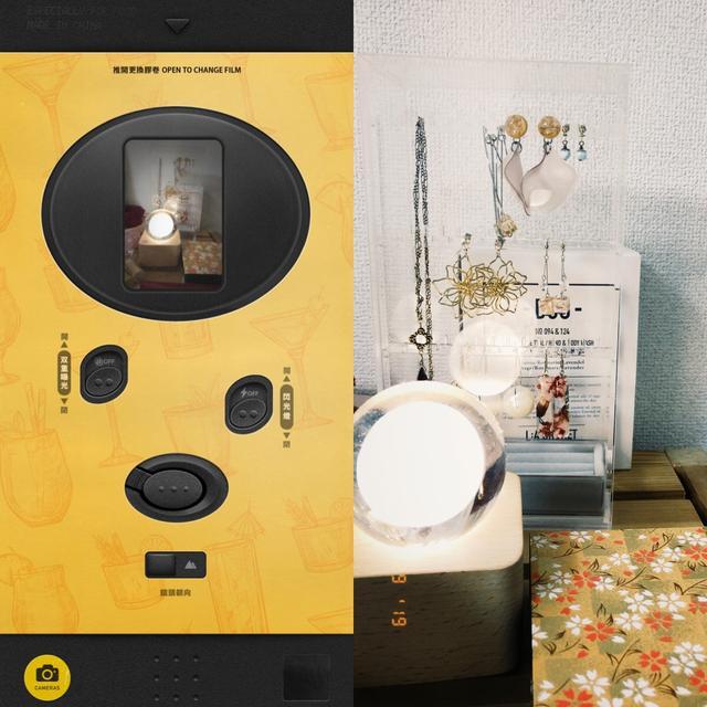 画像4: レトロなカメラがたくさん!無料で追加できるものもあります。